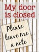 Counseling Office: Editable Farmhouse Office Signs for Counselors