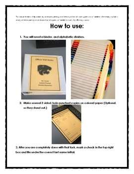 Communication Log Office Visit Notes