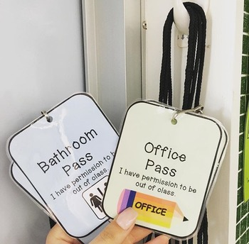 Office and Bathroom Passes