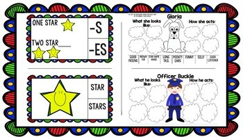 Officer Buckle Activity BUNDLE