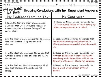 Officer Buckle and Gloria: Aligning 2nd Grade Houghton Mifflin to Common  Core