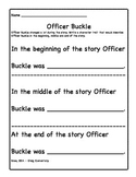Officer Buckle Character Development
