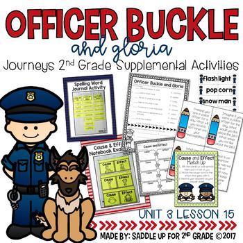 Officer Buckle and Gloria 2nd Grade Supplemental Activities