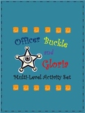 Officer Buckle and Gloria --Activities, Printables, Worksheets, K-5th