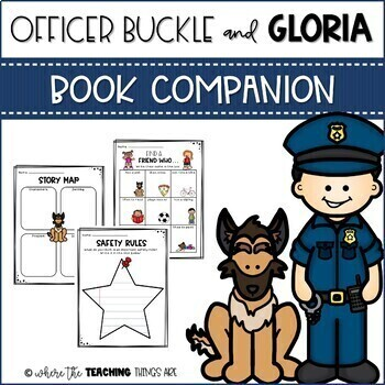 Officer Buckle and Gloria Book Companion and Activities