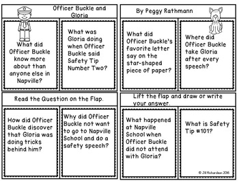 Officer Buckle and Gloria Book Companion! (Reading Comprehension)
