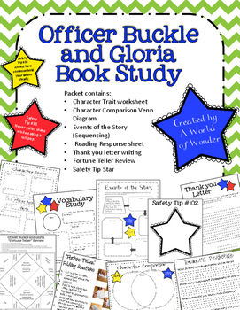 Officer Buckle and Gloria Book Study