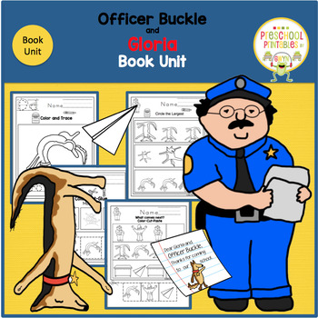 Officer Buckle and Gloria  Book Unit