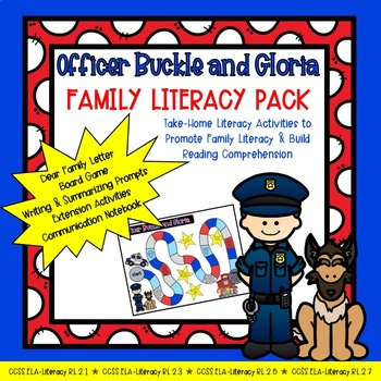 Officer Buckle and Gloria: Family Literacy Pack