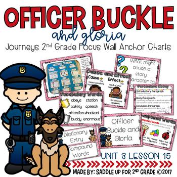 Officer Buckle and Gloria Focus Wall Anchor Charts and Wor