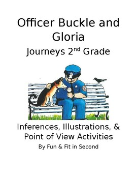 Officer Buckle and Gloria Inferences and Illustrations Activities