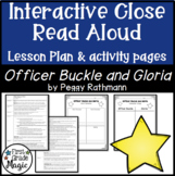 Officer Buckle and Gloria Close Read Interactive Read Aloud Lesson Plan & Tasks