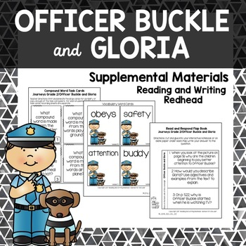 Officer Buckle and Gloria - Journeys Second Grade Week 15
