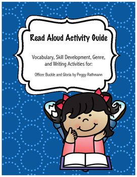 Officer Buckle and Gloria No Prep Read-Aloud Literacy Guide