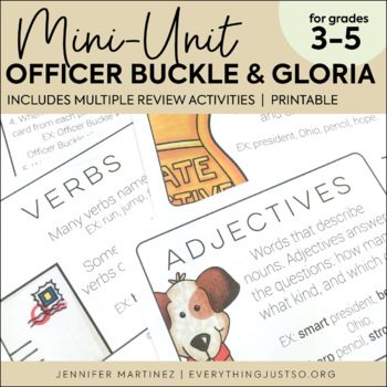 Officer Buckle and Gloria Activities Unit | Read Aloud Center Activities