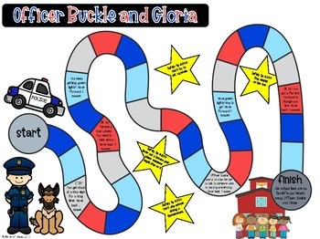 Officer Buckle and Gloria: Reading Comprehension Board Game