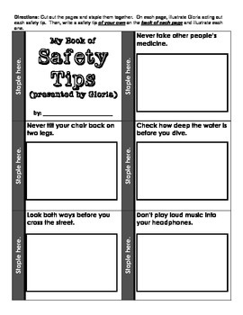 Officer Buckle and Gloria - Safety Tips booklet