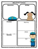 Officer Buckle and Gloria Story Map Graphic Organizer
