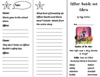 Officer Buckle and Gloria Trifold - Journeys 2nd Grade Unit 3 Week 5 (2011)