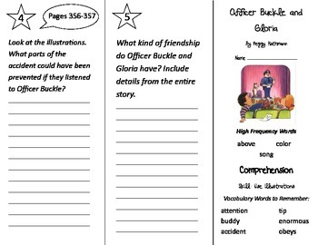 Officer Buckle and Gloria Trifold - Treasures 2nd Grade Unit 3 Week 2 (2009)