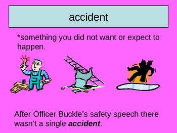 Officer Buckle and Gloria Vocabulary Houghton Mifflin Series