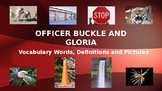 Officer Buckle and Gloria Vocabulary Words, Definitions, P