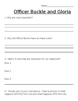 Officer Buckle and Gloria - Why we have rules