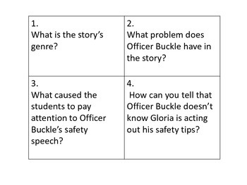 Officer Buckle and Gloria: Write the Room