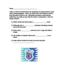 Officer Buckle and Gloria descriptive words practice
