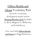 Officer Buckle and Gloria vocabulary pack