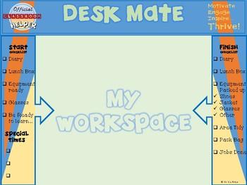 Official Classroom Helper- Desk Mate!