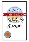 Official Classroom Helper Range- Colour