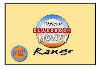 Official Classroom Rewards- Classroom Money