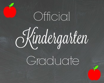 Official Kindergarten Graduate