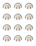 Official Kindergartener! Back to School Sticker/Tattoo