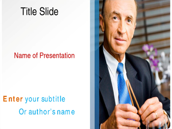 Official Lunch PPT Template