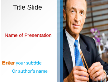 Official Lunch PowerPoint Template