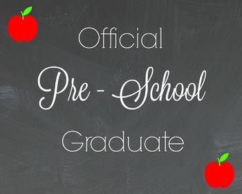 Official Pre-K Graduate