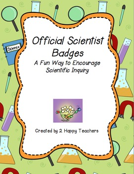 Official Scientist Badges