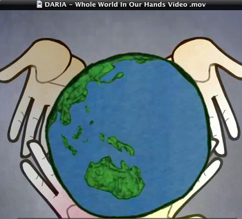 """Official Video to the Earth Day Song """"We've Got The Whole World In Our Hands"""""""