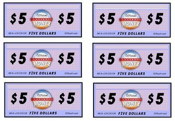 Official Classroom Reward- Classroom Money Bundle