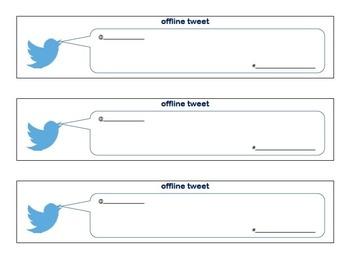 Offline Tweet Template