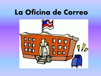 Spanish Oficina de Correo Post Office