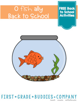 O'fish'ally Back to School Mini Activity Pack