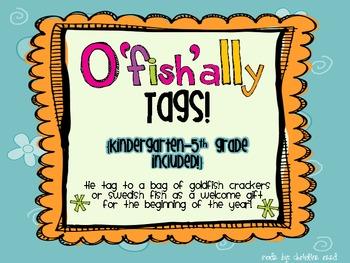 O'fish'ally in ____ Grade! {freebie}