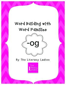 """""""Og"""" Word Family Lesson Plan"""
