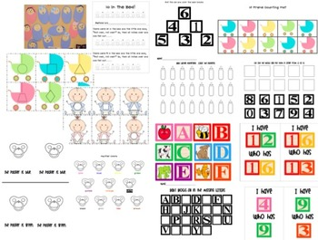 Oh, Baby! An All About Me {When I Was Little}Math and Literacy Pack