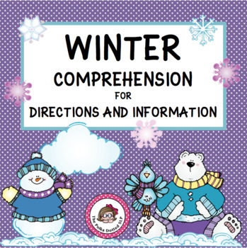 Oh Baby Its Cold Out here..A Winter Themed Listening Packet
