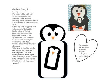 Oh, Baby! Penguin Mother and Baby Craft