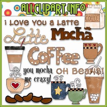 Oh Beans Clip Art - Cheryl Seslar Clip Art